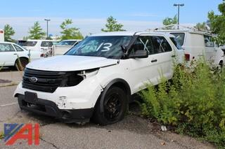 2014 Ford Explorer Police Vehicle
