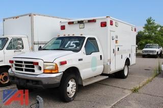 2000 Ford/Wheeled Coach E450 Ambulance