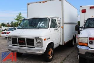 1991 GMC Vandura G3500 Box Truck