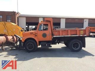 **Lot Updated** 1993 International 4600 Dump Truck