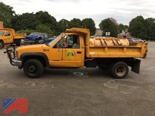 1998 Chevrolet 3500 Dump Truck