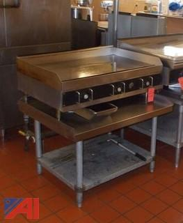 Star 3-Burner Flat Top Griddle
