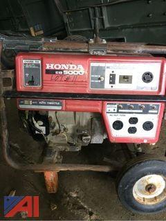 5,000 Watt Honda Generator