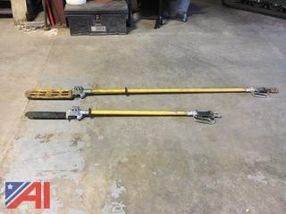 (3) Hydraulic Pole Chain Saws