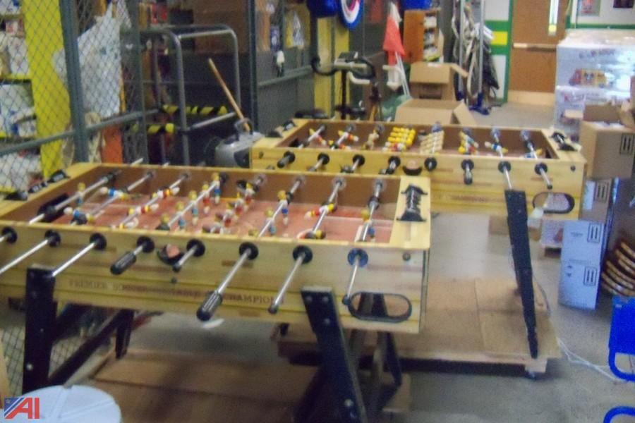 Auctions International Auction Hermon Dekalb CSD NY ITEM - Premier soccer foosball table
