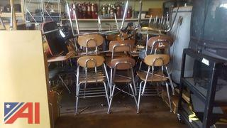 Assorted School Furniture & More
