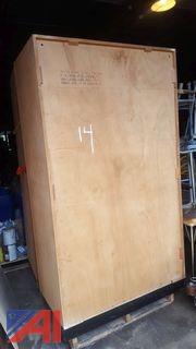 (2) Wooden Cupboards