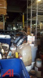 (1) Pallet of Assorted Paints, Stains & More
