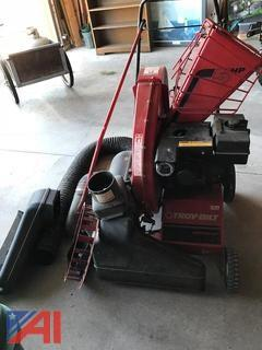 Troybilt Chipper Vac with Attachments