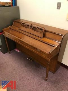 Poppenberg Bros. Upright Piano