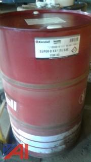55 Gallon Drum, Kendall 15/40 Oil