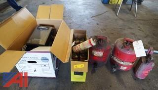Garage Door Power Drive, Fuel Cans & Misc.