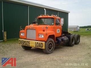 "1980 Mack ""R"" Road Tractor Truck"