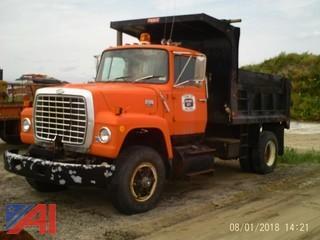 1985 Ford L9000 Dump Truck