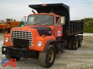 1985 Ford LT9000 Dump Truck (Parts Only)