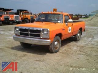 1991 Dodge Ram 250 Pickup