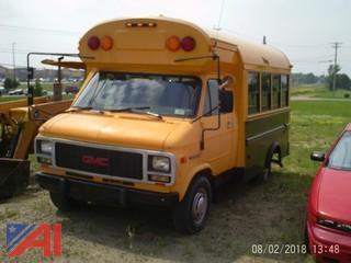 1996 GMC Vandura 3500 School Bus