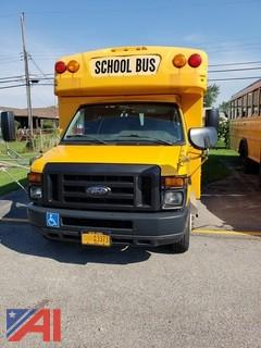 2010 Ford E450 Collins Short School Bus with Wheel Chair Lift