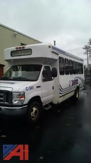 2010 Ford E450 Bus with Wheel Chair Lift