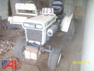 1986 Bolens H1502 Hydro Tractor