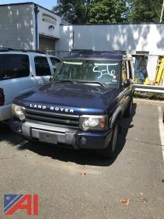 2003 Land Rover Discovery SUV
