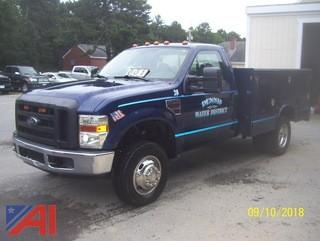 2008 Ford F350 SD Utility Truck