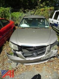 2007 Hyundai Sonata 4 Door