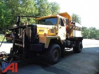 1990 International Paystar 5070 Dump Truck with Sander, Plow and Wing
