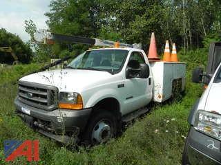 2001 Ford F550 Bucket Truck