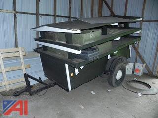 2009 Home Made Flower Cart Trailer
