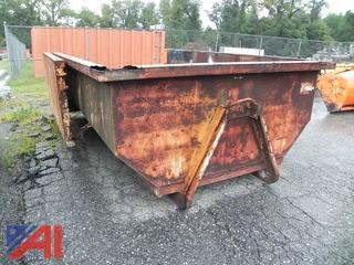10 Yard Metal Container