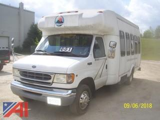 2001 Ford E350 SD Bus