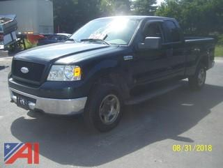 2006 Ford F150 Extended Cab Pickup