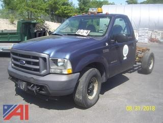2003 Ford F350 Cab & Chassis