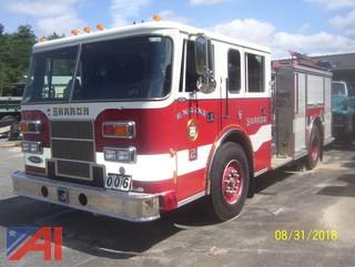 1996 Pierce Saber Fire Pumper
