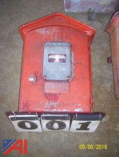 Gamewell Fire Pull Box