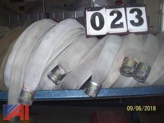 "(6) 50' Reels of  1.5"" Fire Hose"