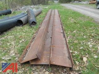 (3) Steel I Beams