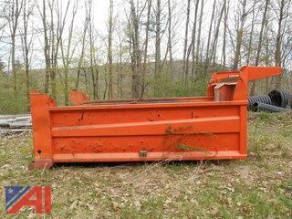 Dump Box with Rear Gate and Hydraulic Ram