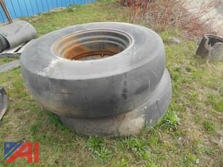 Roller Tires on Rims