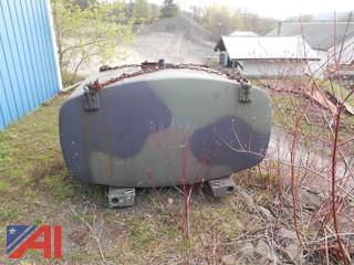 500 Gallon Military Liquid Storage Tank