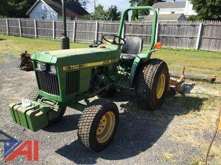 John Deere 750 Riding Tractor