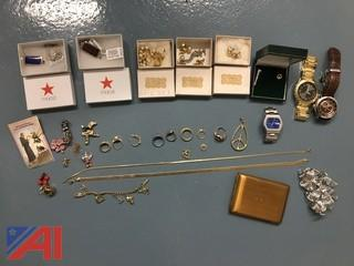 Lot of Jewelry & Watches