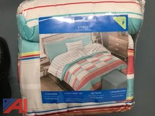 NEW in Packaging 8 Piece Comforter Set