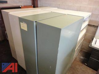 (8) Assorted Filing Cabinets