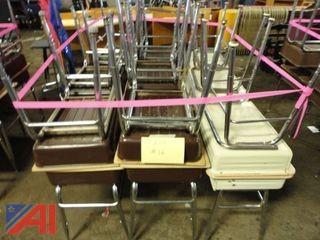 (19) Metal Student Desks