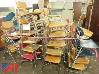 (57) Assorted Student Chairs