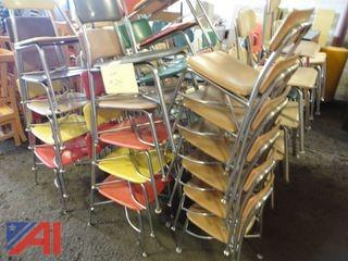 (52) Assorted Student Chairs