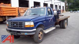 1997 Ford F450 Flat Bed