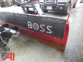 BOSS 9' Super-Duty XT Plow & Controller